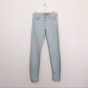 Mother The Looker Skinny Jeans in Heaven Sent Sage